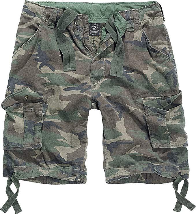 pantalones cortos militares