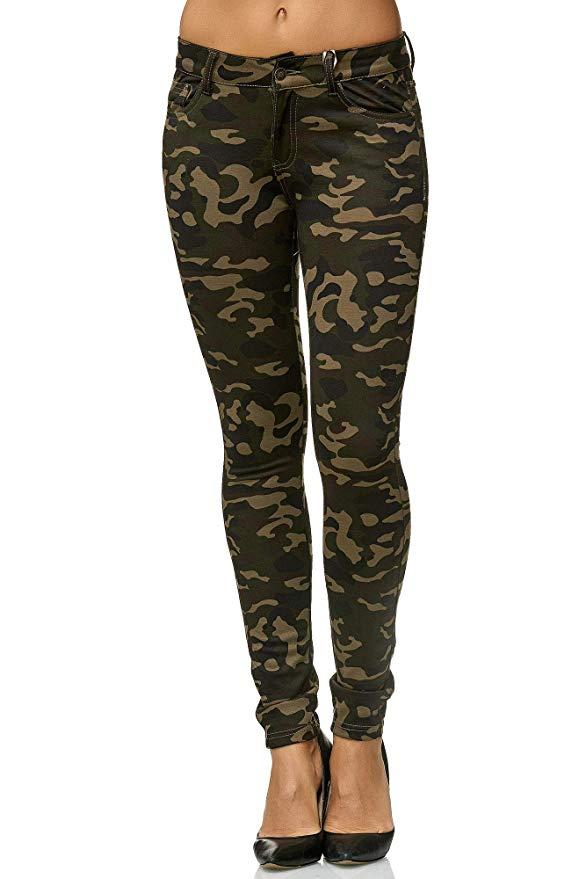 Pantalon Militar Mujer Seleccion De Modelos 2021
