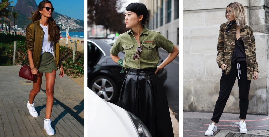ropa estilo militar