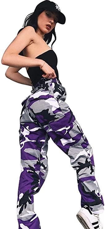 pantalón militar mujer