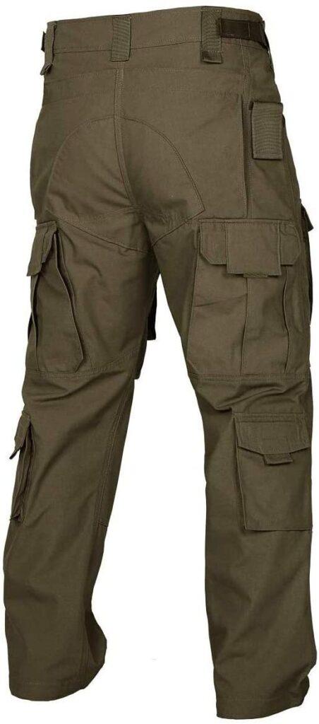 pantalón para hombre de estilo militar